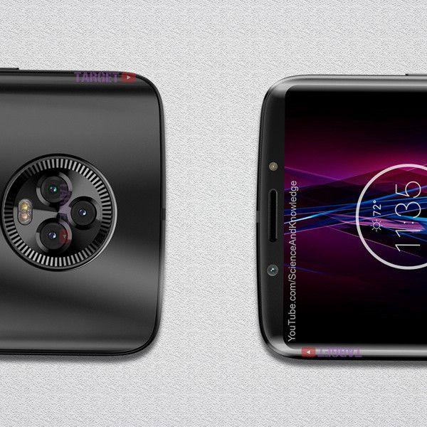 Это «безрамочный» Moto X5 с мощным посылом по камерам – фото 5