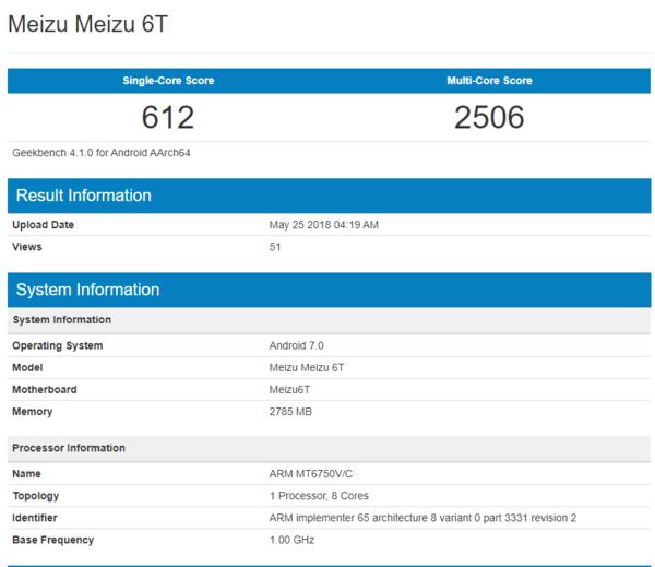 Meizu M6T может получить старый процессор от MediaTek – фото 1
