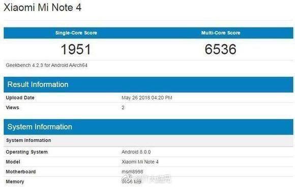 Подтвержден анонс Xiaomi Mi Band 3 и смартфон Xiaomi Mi Note 4 замечен в Geekbench – фото 2