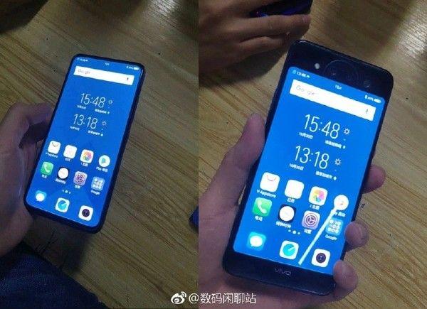 Смартфон Vivo с двумя дисплеями показали на фото – фото 1
