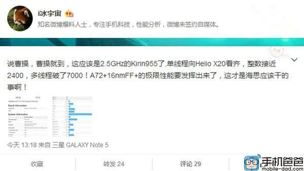 Kirin 955 станет самым мощным чипом Huawei – фото 1