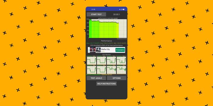 Realme 8 тест на троттлинг