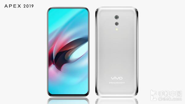 Изображения Vivo APEX 2019: смартфон почти без рамок и без кнопок – фото 1