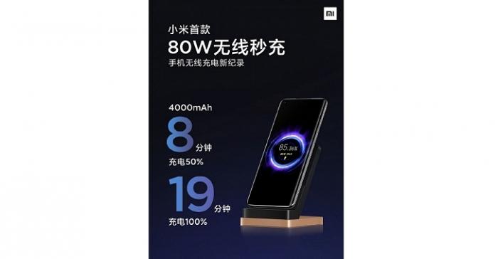 Самую мощную беспроводную зарядку 80 Вт могут установить в новом флагмане от Xiaomi – фото 1