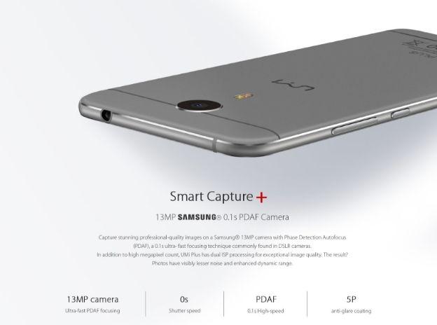 UMi Plus с процессором Helio P10 и 4 ГБ ОЗУ представят на IFA 2016 в один день с iPhone 7 – фото 2