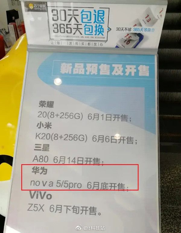 Huawei Nova 5 и Nova 5 Pro: чип Kirin 980 и многокамерные системы – фото 2