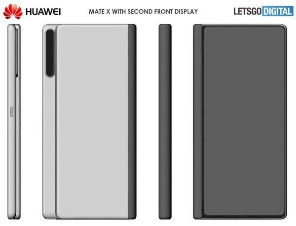 Huawei запатентовала гибкий смартфон. Huawei Mate X2? – фото 1
