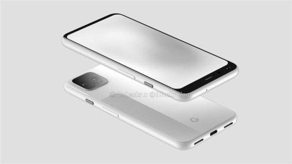 рендер Google Pixel 4