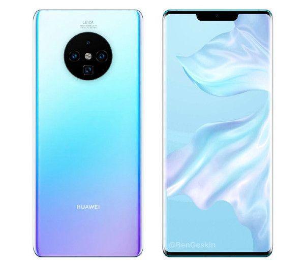 Huawei Mate 30 с защитным стеклом AirGlass