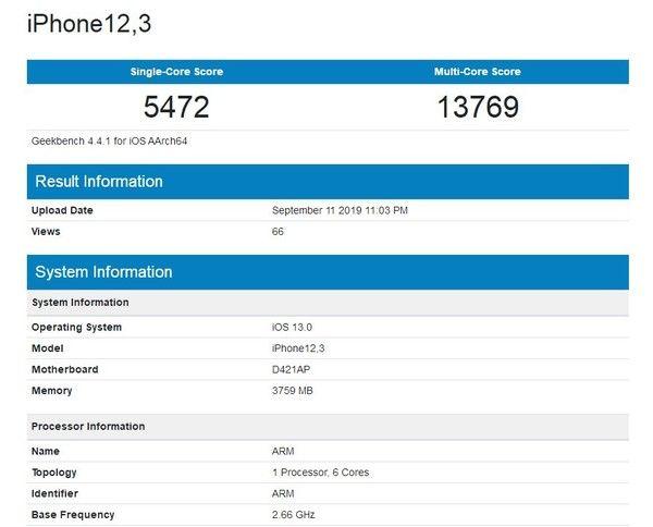 Насколько мощным получился чип Apple A13 Bionic? Итоги в Geekbench – фото 3