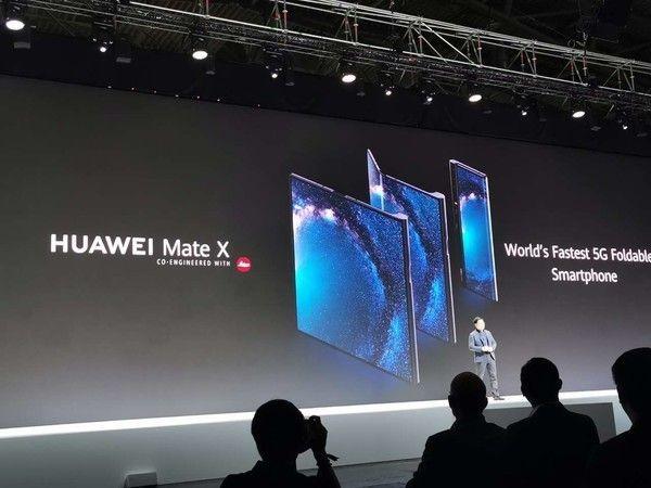 Прием предзаказов на Huawei Mate X стартует на следующей неделе