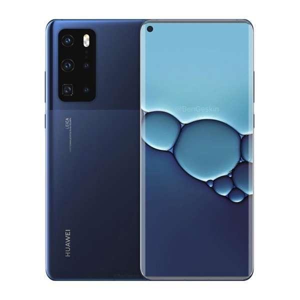 Huawei P40 Pro выйдет в таком дизайне?