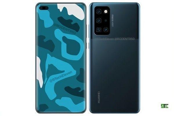 Huawei P40 Pro выйдет в таком дизайне? – фото 1