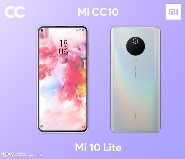 Рендер Xiaomi Mi CC10: фейк или реальность? – фото 1