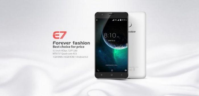 Blackview E7 работает в наших сетях LTE, хорошо оснащен и доступен всего за $62,99 – фото 1