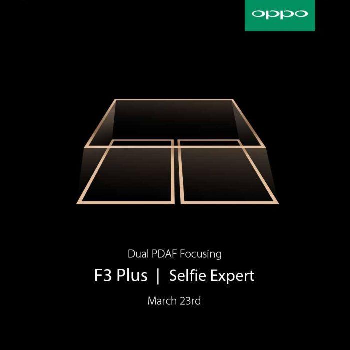 Oppo F3 Plus: тизеры раскрыли ряд особенностей смартфона – фото 2