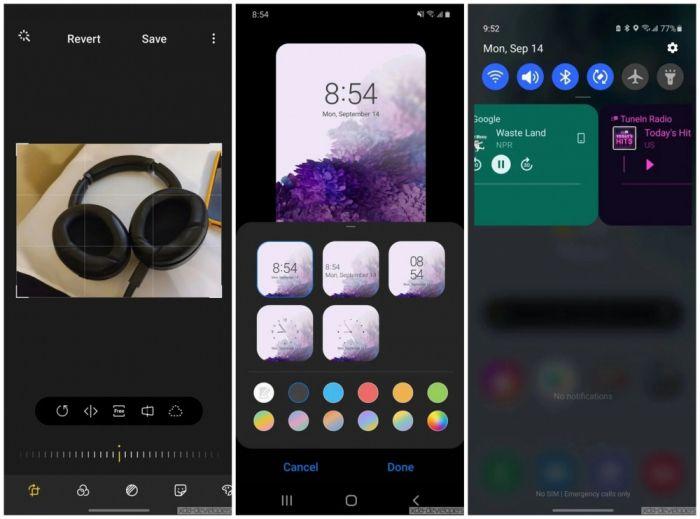 Посмотрите на One UI 3.0: оформление оболочки на скриншотах – фото 7