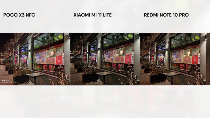 17 Камеры Ми11 лайт
