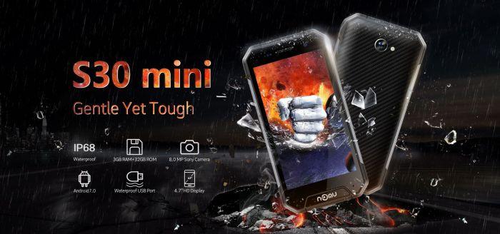 NOMU S30 mini проверили на прочность – фото 1