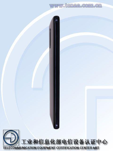 боковая панель  Meizu 16T
