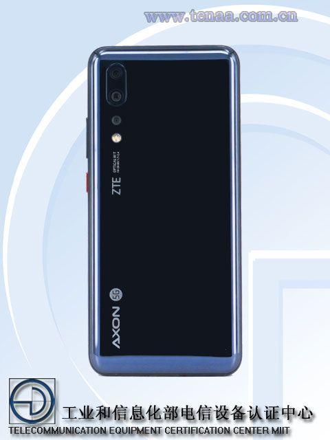 ZTE Axon 10s Pro: изображения и подробности с сайта TENAA – фото 2