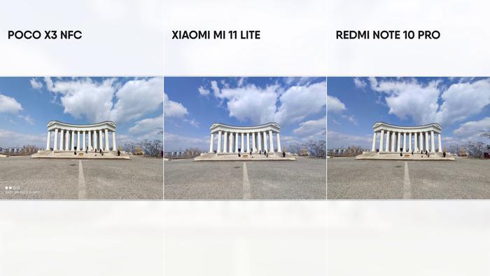 19 камеры Ми11 лайт