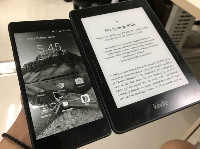 Vernee Thor E получил дисплей, выполненный по технологии E-Ink? – фото 1