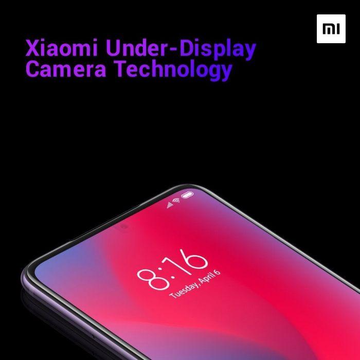 Xiaomi активно работает над размещением фронтальной камеры под дисплеями смартфонов – фото 1
