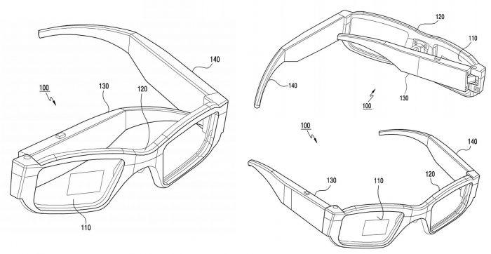 Samsung патентует очень интересные умные очки – фото 2