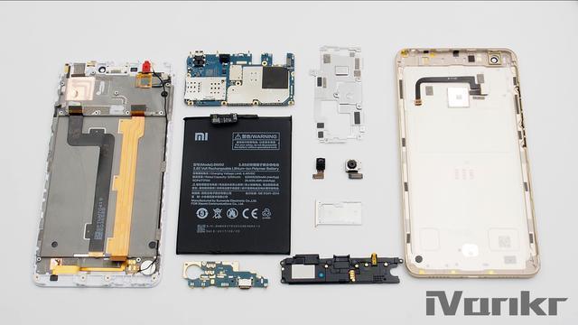 Xiaomi Mi Max 2 разобрали на части – фото 21