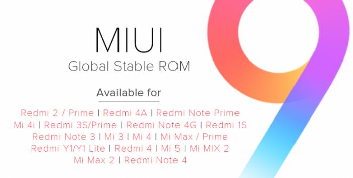 Глобальная версия MIUI 9 от Xiaomi расширяет возможности двух десятков смартфонов – фото 1