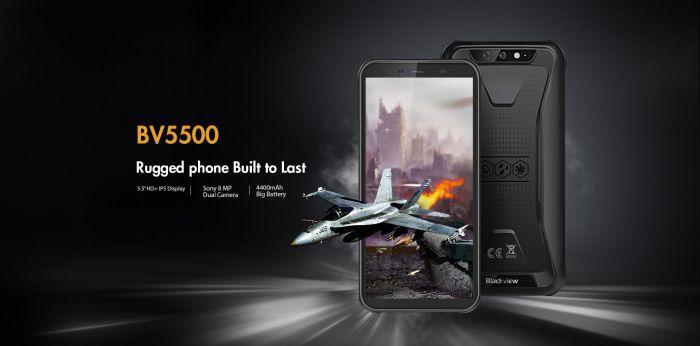 Защищенный Blackview BV5500 в предзаказе за $89,99 – фото 2