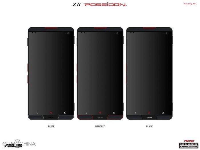 Asus Z2 Poseidon – концепт игрового смартфона с охлаждением на тепловых трубках – фото 2