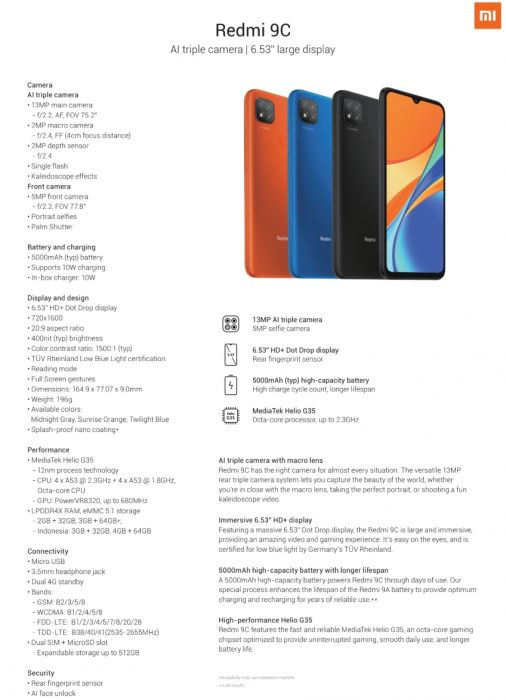 Представлен Redmi 9C: даешь больше дешевых смартфонов – фото 3