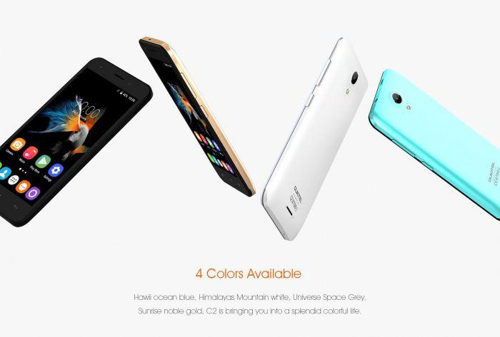 Oukitel C2 – доступный смартфон с 4,5-дюймовым дисплеем – фото 3