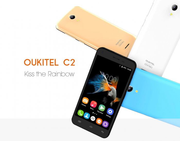 Oukitel C2 – доступный смартфон с 4,5-дюймовым дисплеем – фото 2