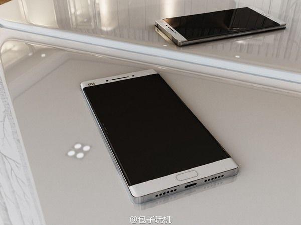 Xiaomi Mi Note 2: смартфон крупным планом на качественных рендерах – фото 1