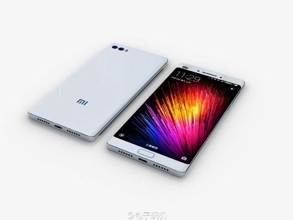 Xiaomi Mi Note 2: смартфон крупным планом на качественных рендерах – фото 4