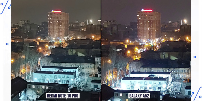 Galaxy a52 фото сравнение с note 10 pro