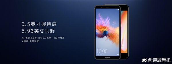 Представлен Honor 7X с широкоформатным дисплеем и двойной камерой – фото 2