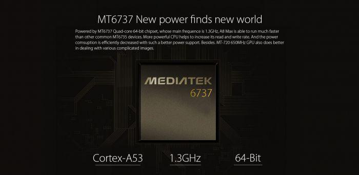 Blackview A8 Max – новый бюджетник с МТ6737 и Android 6.0 за $79,99 – фото 2