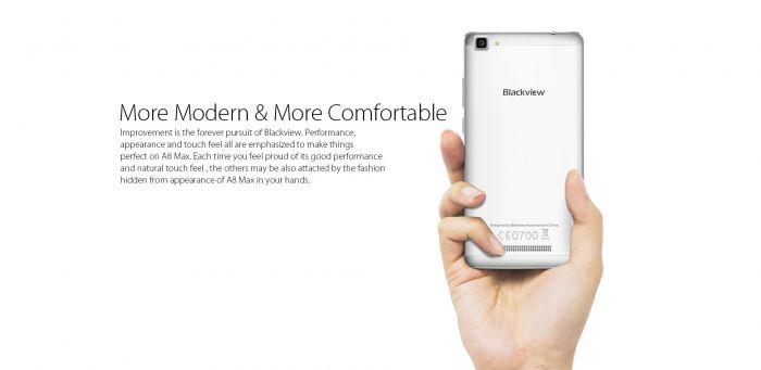 Blackview A8 Max – новый бюджетник с МТ6737 и Android 6.0 за $79,99 – фото 3