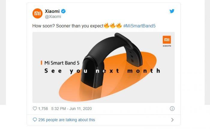Стало известно, когда Xiaomi Mi Band 5 выйдет на глобальный рынок – фото 1