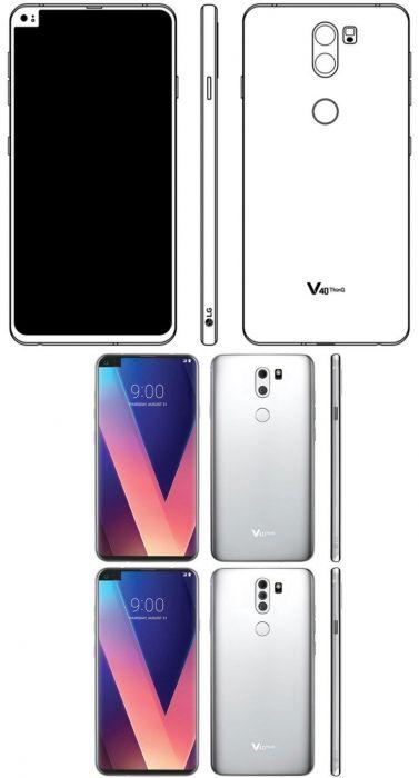 Концепт LG V40: вне рамок и вне шаблонов с «монобровью» – фото 1