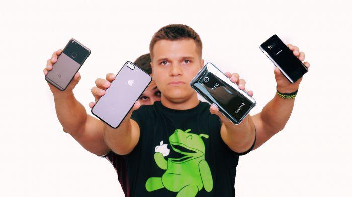 Большой тест камер флагманов: HTC U11, Samsung Galaxy S8, iPhone 7 Plus и Google Pixel – фото 1