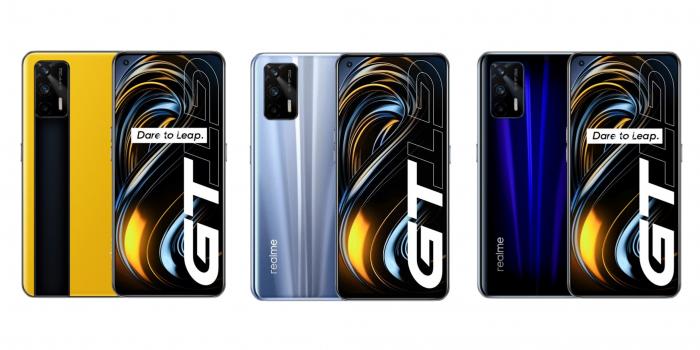 Расцветки Realme GT