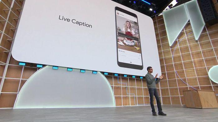 новая функция Live Caption в Google Pixel 3, Google Pixel 3А