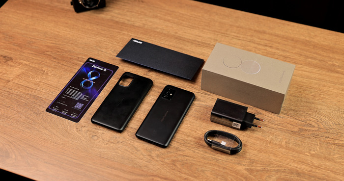 Asus Zenfone 8 комплект