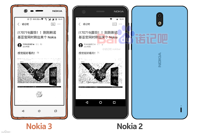 Nokia 2 показал себя на рендере – фото 3