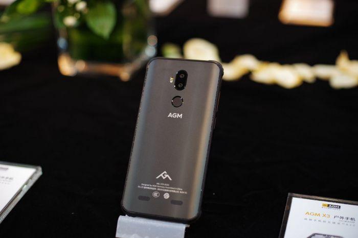 Анонс AGM X3: мощный флагман в камуфляже – фото 1